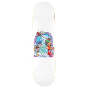 Huf Bode World 8.25in , Skateboardbräda - White