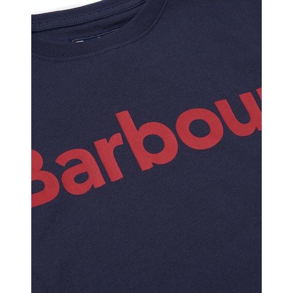 Barbour Logo Boy's Short Sleeve T-Shirt