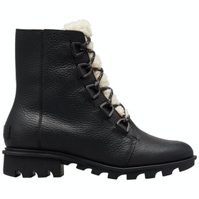Sorel Phoenix Short Lace Cozy Boots - Imper-black