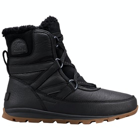 Sorel Whitney Short Lace Premium Boots - Black