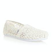 Toms Alpargata Lace Womens Slip On Shoes