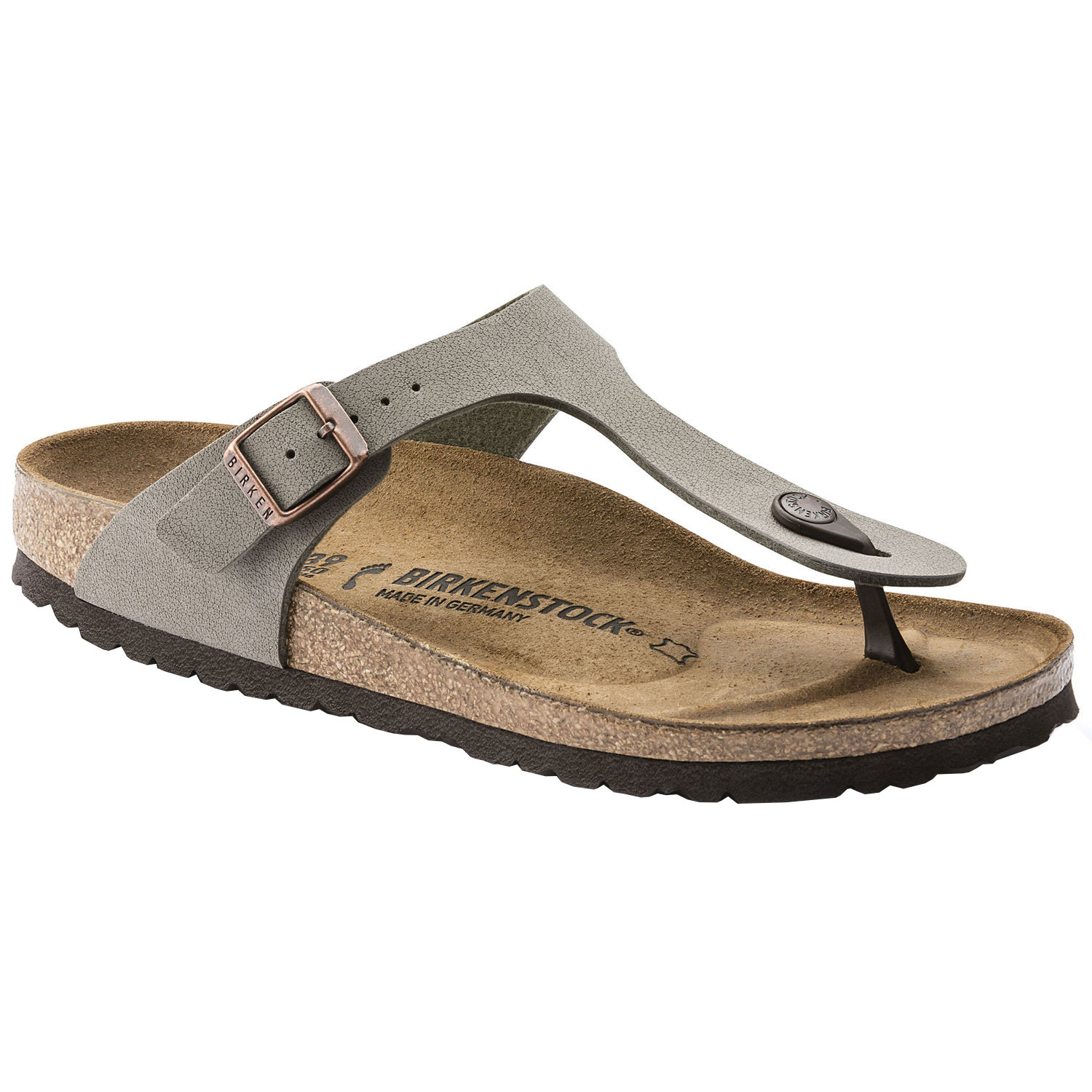 Silver Birkenstock Mayari Italy Sandals With Arch Support