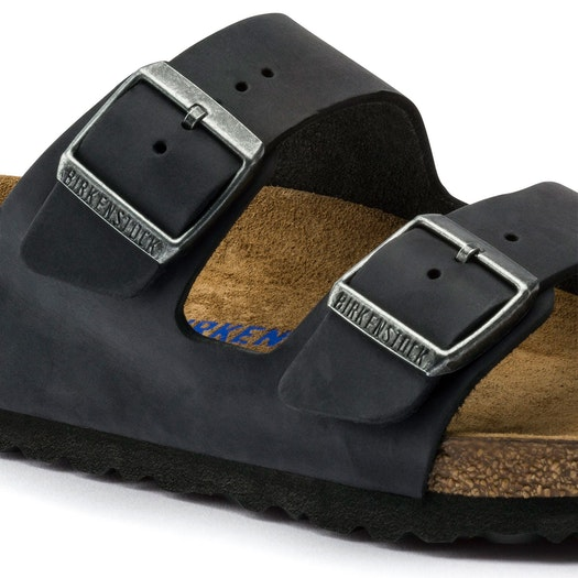 Sandalias Birkenstock Arizona Oiled Leather Soft Footbed