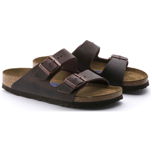 Birkenstock Arizona Oiled Leather Narrow Sandals