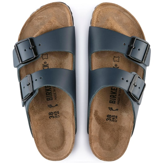 Birkenstock Arizona Smooth Nubuck Leather Sandały