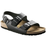 Birkenstock Milano Natural Leather , Sandaler