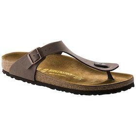 Birkenstock Gizeh Birko Flor Nubuck Sandals - Mocca