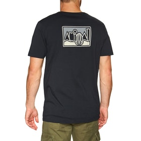 T-Shirt à Manche Courte Animal Heritage Graphic - Black
