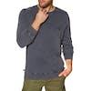 Animal Revive Crew Sweater - Indigo Blue