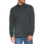Hurley Dri-fit Natural Track Quater Zip Sweater