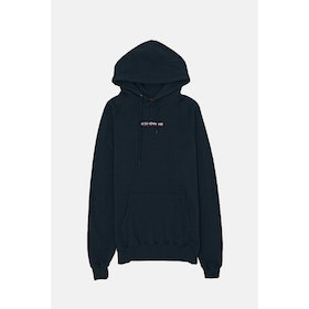 Le Fix Jumping Letters Hoodie - Navy