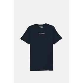Le Fix Jumping Letters S S T-Shirt - Navy