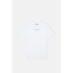Le Fix Jumping Letters S S T-Shirt - White