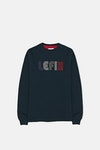 Le Fix Multi Letter Crew Sweatshirt