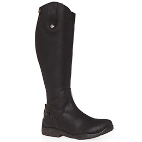 Long Riding Boots Mark Todd Fleece Lined Winter - Brown