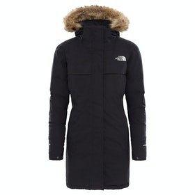 North Face Cagoule Parka GTX Ladies Down Jacket - Tnf Black
