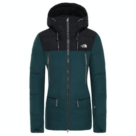 North Face Pallie Dame Dunjakke - Ponderosa Green Tnf Black