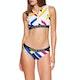 Calvin Klein Open Back Crop Womens Bikini Top
