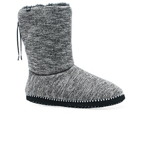 Animal Bollo Boot Womens Slippers - Grey Marl