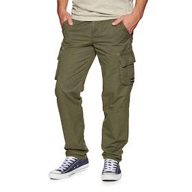 Pantalon Cargo Animal Penn Woven Trouser - Olive
