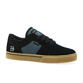 Etnies Barge LS Kids Shoes - Black Blue