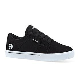 Chaussures Enfant Etnies Barge LS - Black White