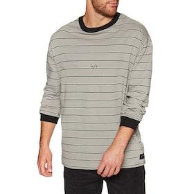 Globe Dion Agius Drone Long Sleeve T-Shirt - Pumice