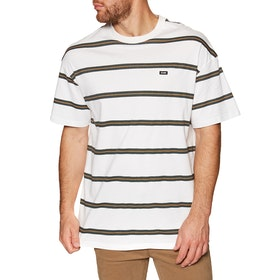 T-Shirt à Manche Courte Globe Too Fast Stripe - Milk