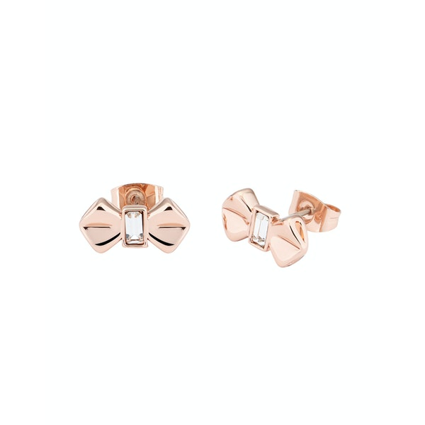 Ted Baker Susli Solitaire Bow Stud Earrings