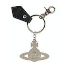 Llaveros Mujer Vivienne Westwood Gadget Hammered Orb Silver
