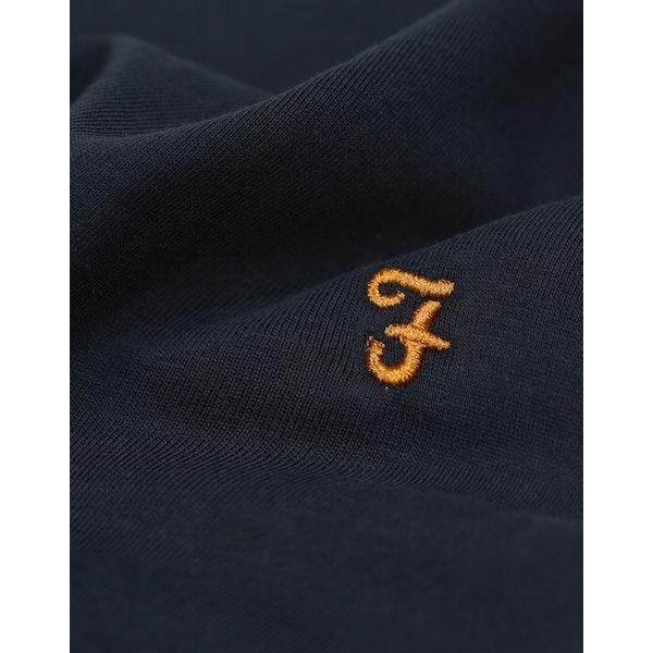 Farah Groves Ringer Slim Fit Herre Kortærmede T-shirt