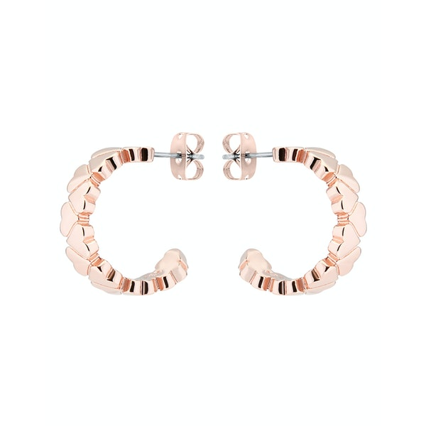 Ted Baker Harleen Heart To Heart Small Hoop Earrings