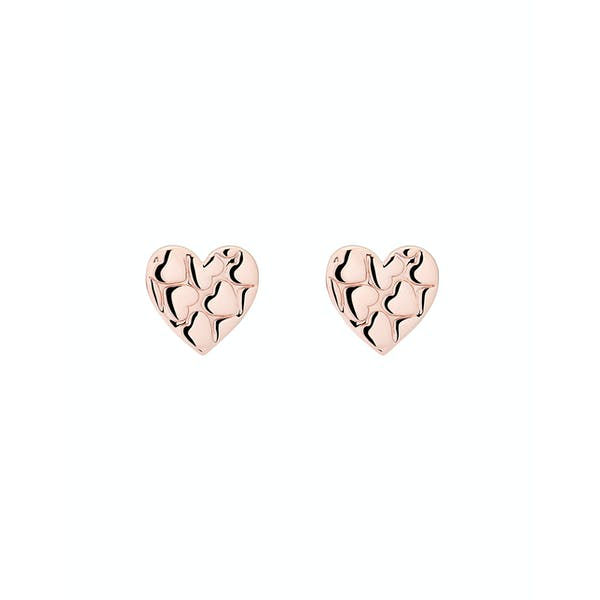 Ted Baker Harloa Heart To Heart Stud Earrings