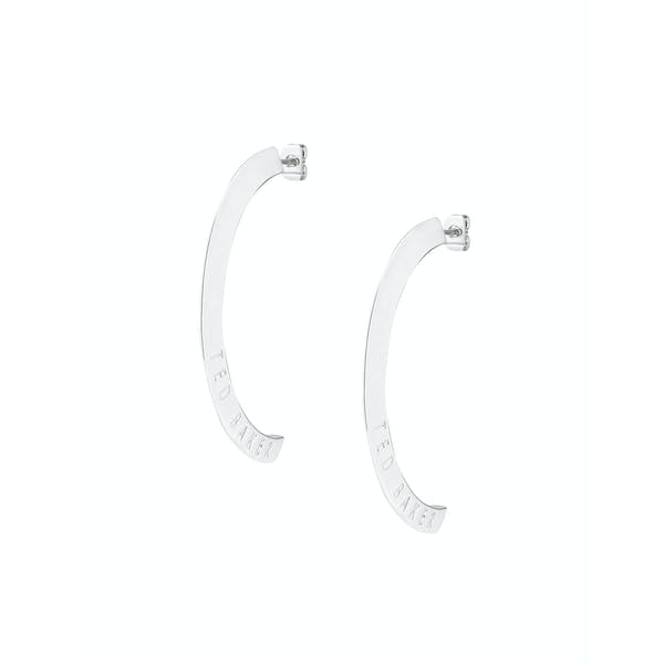 Ted Baker Iclipsa Logo Half Hoop Earrings