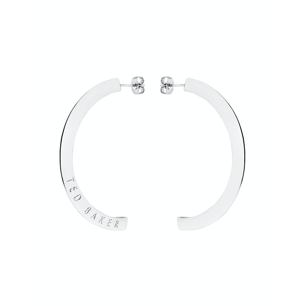 Ted Baker Iclipsa Logo Half Hoop Earrings
