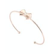 Ted Baker Sakarah Solitaire Bow Ultra Fine Cuff Bracelet