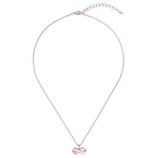 Ted Baker Sarahli Solitaire Bow Pendant Necklace