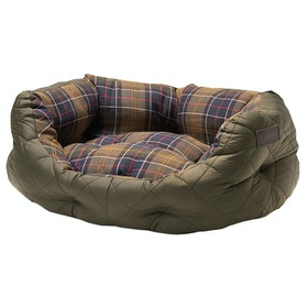 Barbour Quilted 24 Pet Bed - Olive