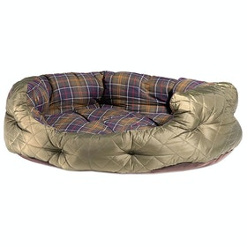 Barbour Quilted 35 Pet Bed - Olive