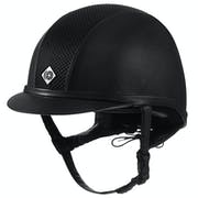 Charles Owen AYR8 Plus Leather Look Ridehatt