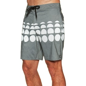 RVCA Whitehead Dots Trunk Boardshorts - Black