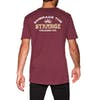 Volcom Experience Ltw Short Sleeve T-Shirt - Cabernet