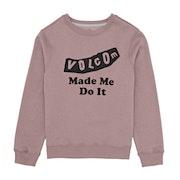 Volcom Darting Traffic Crew Girls Sweater
