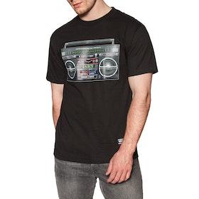 T-Shirt à Manche Courte Grizzly Boom Box - Black