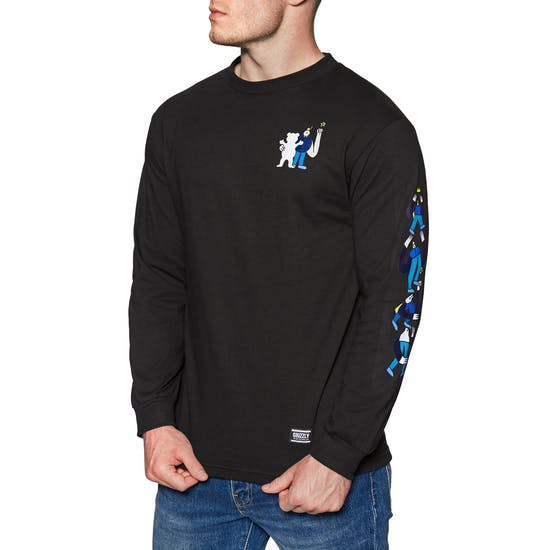 Grizzly Lucas Stacked Long Sleeve T-Shirt