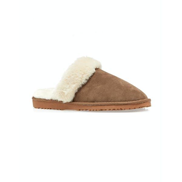 Country Attire Faux Fur Damen Pantoffeln