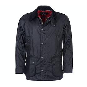 Barbour Ashby Mens Wax Jacket - Black
