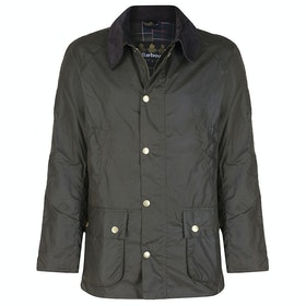 Barbour Ashby Mens Wax Jacket - Olive