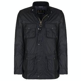 Barbour Corbridge Mens Wax Jacket - Black