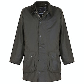 Barbour Classic Northumbria Mens Wax Jacket - Olive